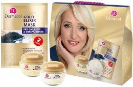 Dermacol dárkové balení Gold elixir