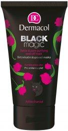 Dermacol Black magic Detoxikační slupovací maska pro smíšenou pleť