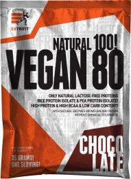 Extrifit Vegan 80 čokoláda