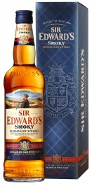 Sir Edward´s Smoky Blended Scotch Whisky 40%, dárkové balení