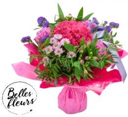 Belles Fleurs Kytice růžová