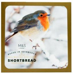 Marks & Spencer Skotské máslové sušenky ptáček