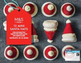 Marks & Spencer Sněhové pusinky (mražené)