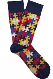 Soxit Ponožky puzzle v dárkovém balení, vel.: 36-40