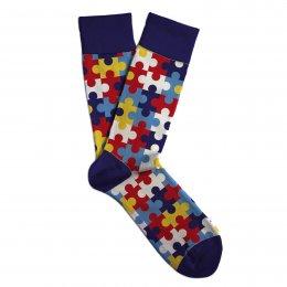 Soxit Ponožky puzzle v dárkovém balení, vel.: 41-46