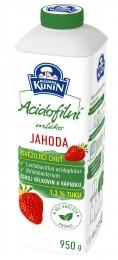 Mlékárna Kunín Acidofilní mléko jahoda