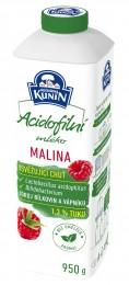 Mlékárna Kunín Acidofilní mléko malina