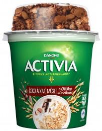Danone Activia Zdravé Ráno - Čokoládové müsli s oříšky