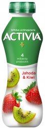 Danone Activia Jogurtový nápoj jahoda/kiwi