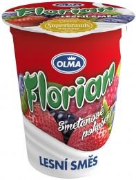 Olma Florian smetanový jogurt lesní směs