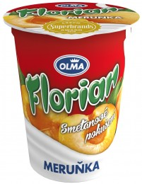 Olma Florian smetanový jogurt meruňka