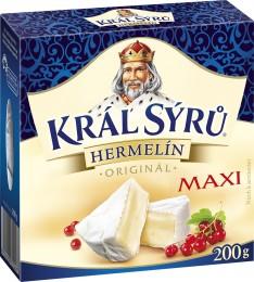 Král sýrů Hermelín Original Maxi
