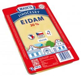 Madeta Eidamský sýr 30% bloček