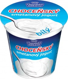 Choceňská mlékarna Choceňský smetanový jogurt bílý 10%