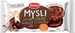 Emco Mysli na zdraví Ovesné sušenky čokoládové
