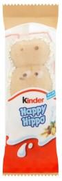 Kinder Happy Hippo Oplatka s mléčnou a lískooříškovou náplní