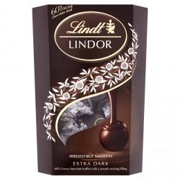 Lindt Lindor pralinky z hořké čokolády s jemnou krémovou náplní