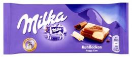 Milka Happy Cow mléčná čokoláda z alpského mléka