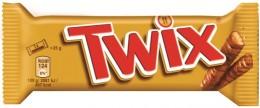 Twix Sušenka s karamelem máčená v mléčné čokoládě