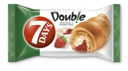 7Days Croissant double vanilka+jahoda