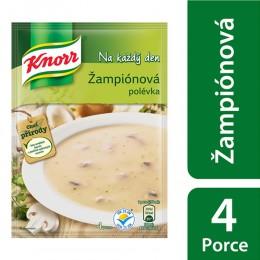 Knorr Žampionová polévka