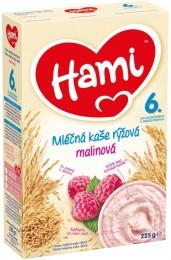 Hami Rýžovo-mléčná kaše s malinami
