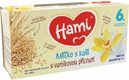 Hami Mlíčko s kaší vanilkové 2x250ml