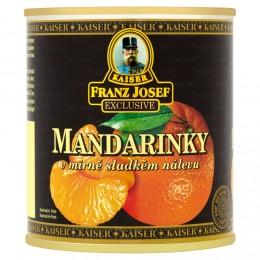F.J.Kaiser Mandarinky v mírně sladkém nálevu