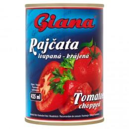 Giana Rajčata loupaná krájená