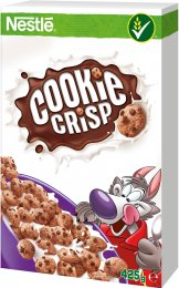 Cookie Crisp Nestlé cereálie