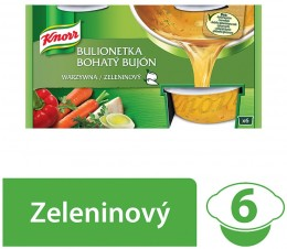 Knorr Bohatý bujon zeleninový 3l (6x28g)
