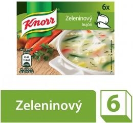 Knorr Bujón zeleninový 3l (6x10g)