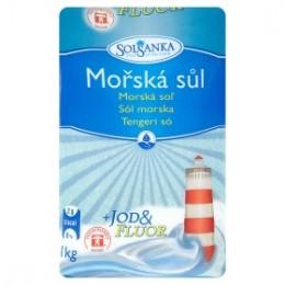 Solsanka mořská sůl s jódem