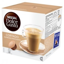 Nescafé Dolce Gusto Cortado Espresso Macchiato 16 kapslí