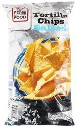 Fine Food Tortilla Chipsy solené