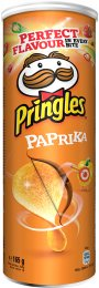 Pringles Křupavý pikantní snack s příchutí papriky