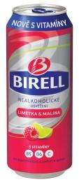 Birell limetka&malina plech