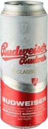Budweiser Budvar B:classic výčepní světlé pivo - plech