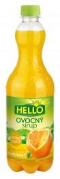 Hello extra hustý ovocný sirup pomeranč