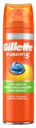 Gillette Fusion Ultra Sensitive gel na holení