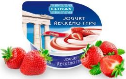 Elinas Jogurt řeckého typu jahodový