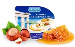 Elinas Jogurt řeckého typu med-oříšek