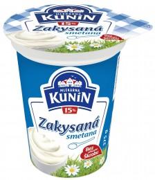 Mlékárna Kunín Zakysaná smetana krémovitá 15%