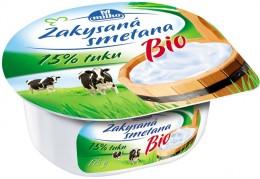 Milko Bio Zakysaná smetana 15%