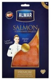 Almar Premium losos uzený plátky