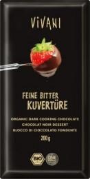 VIVANI Čokoláda na vaření hořká BIO