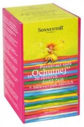 """Sonnentor Poznávací sada čajů """"Ochutnej"""" BIO"""