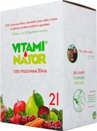Vitaminátor 100% vylisovaná šťáva jablko - červená řepa