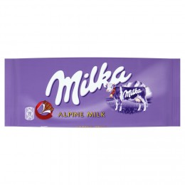 Milka Mléčná čokoláda z alpského mléka
