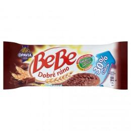 Opavia BeBe Dobré ráno kakaové cereální sušenky s čokoládovými pecičkami a o 30% menším obsahem cukru